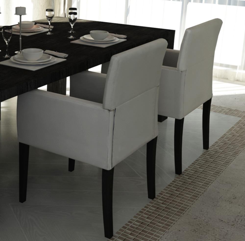 Eetkamerstoelen hout wit: onderstaande houten stoelen zijn ...