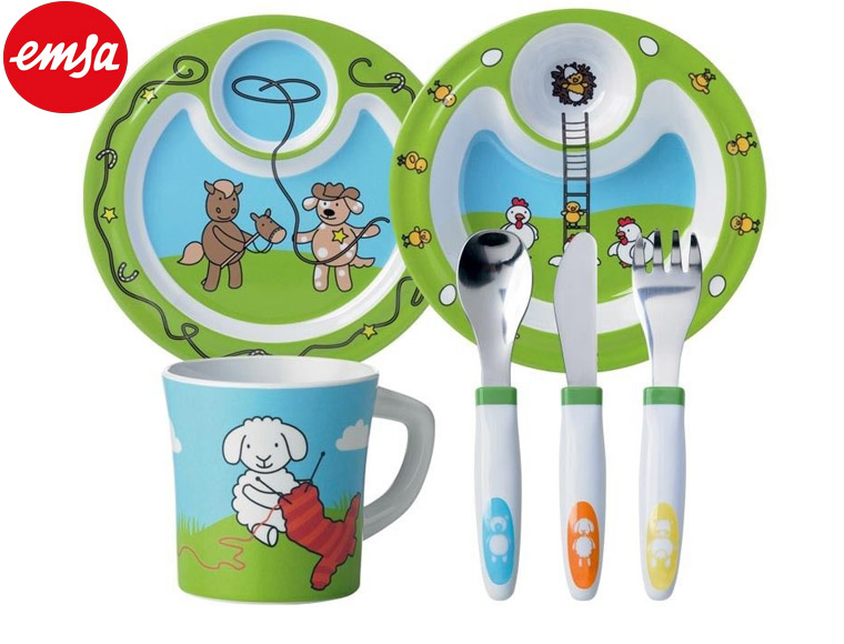 Lifestyle Deal - 6 Dlg Kinder Bestek Set Van Emsa