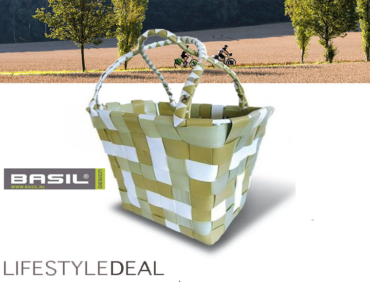 Lifestyle Deal - Basil Fietsmand (Voor) Draagbare Mand!