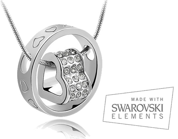 Lifestyle Deal - Collier 'The Circle Of Love' Met Swarovski Elements