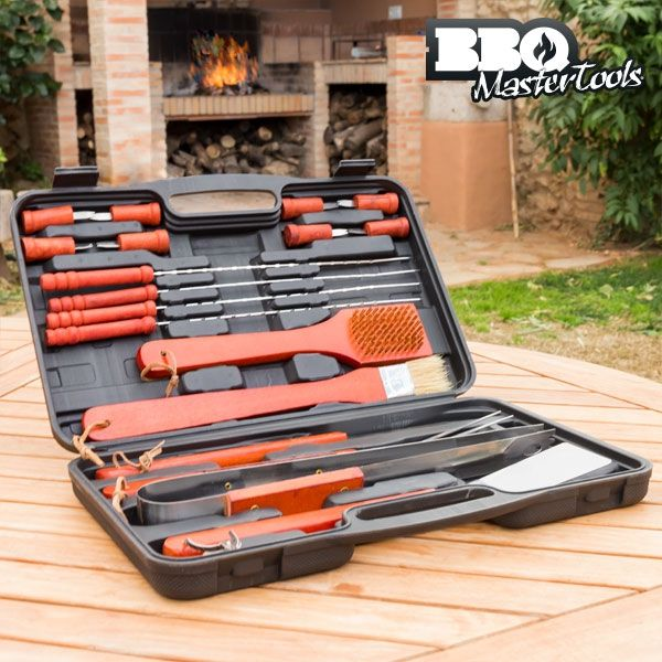 Lifestyle Deal - Complete Bbq Set In Draagtas (18 Delig)