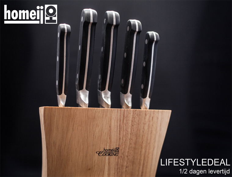 Lifestyle Deal - Homeij A-Merk Messenblok 5-Delig