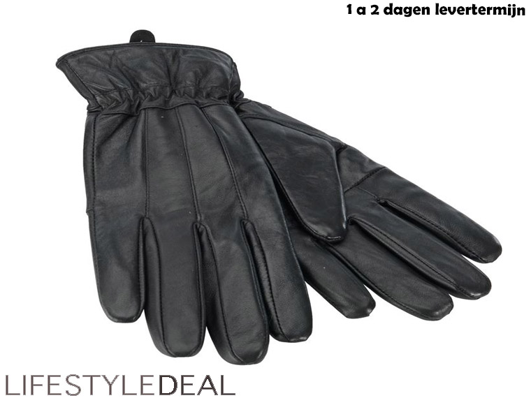 Lifestyle Deal - Lamsleren Winterhandschoenen Nu 6,95 - Opruiming