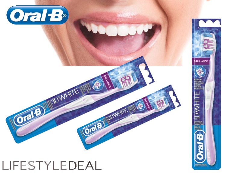 Lifestyle Deal - Originele Oral-B 3D White Brilliance Tandenborstels