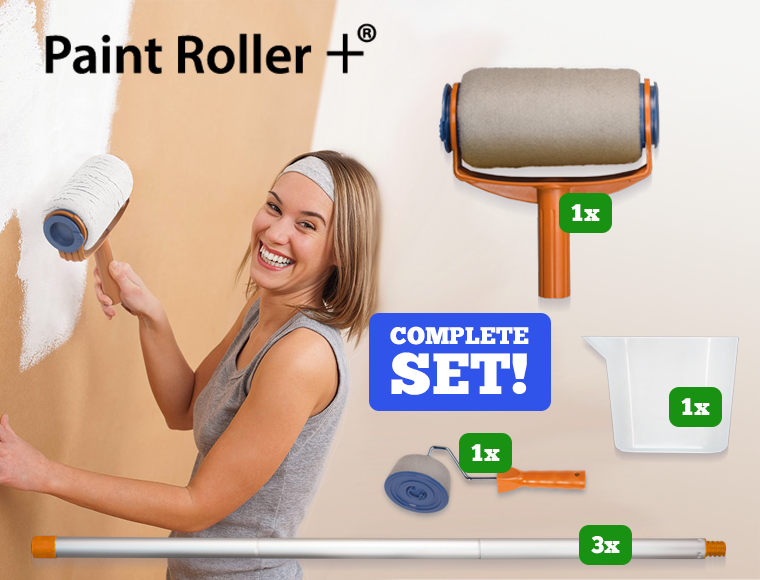 Lifestyle Deal - Paint Roller+: De Revolutionaire Verfroller