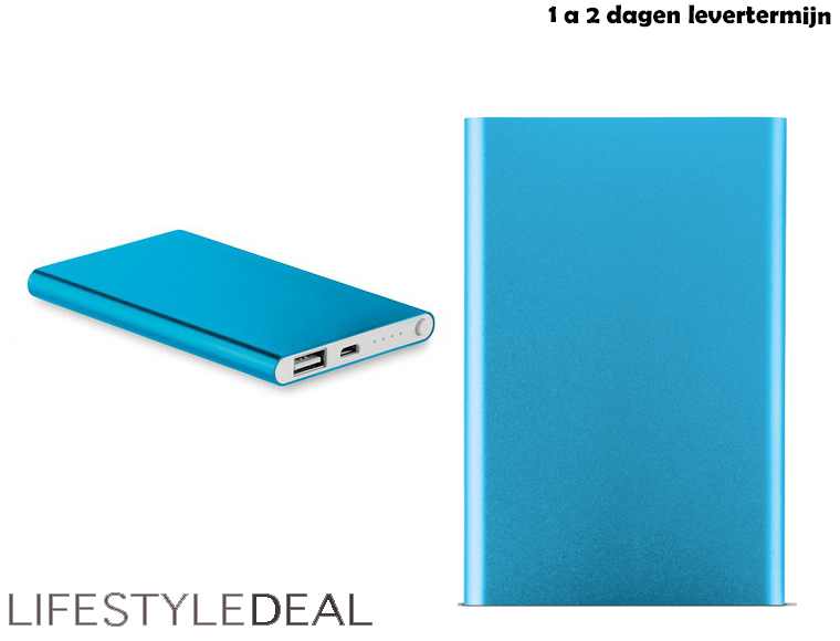 Lifestyle Deal - Powerbank Slim 4000Mah