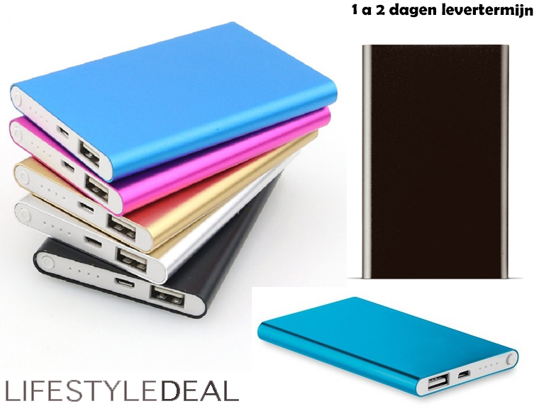 Lifestyle Deal - Powerbank Slim 5000Mah