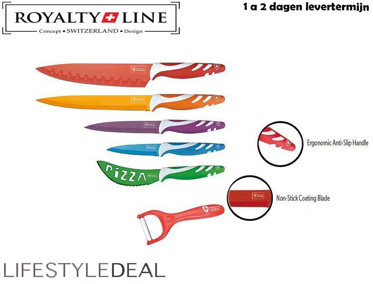 Lifestyle Deal - Royalty Line 5-Delige Messenset