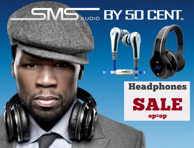 Lifestyle Deal - Sms Audio By 50 Cent Uitverkoop