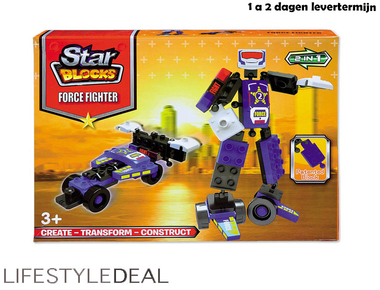Lifestyle Deal - Star Blocks Robot Force Fighter