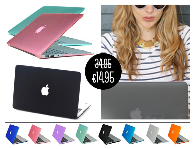 Lifestyle Deal - Transparante Hardcover Voor Macbook In 9 Kleuren