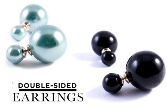 Marge Deals - 1 Paar Double Earrings