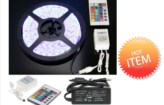 Marge Deals - 5 Meter Led Strip 16 Colors