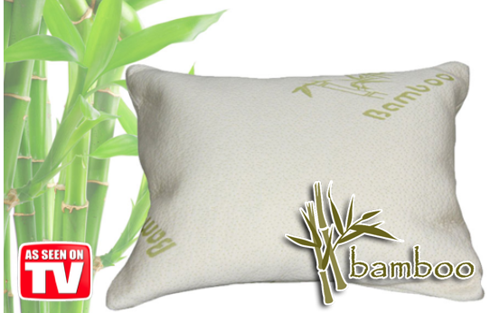 Marge Deals - Bamboo Air Pillow