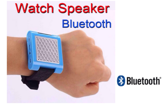 Marge Deals - Bluetooth Speaker Watch White