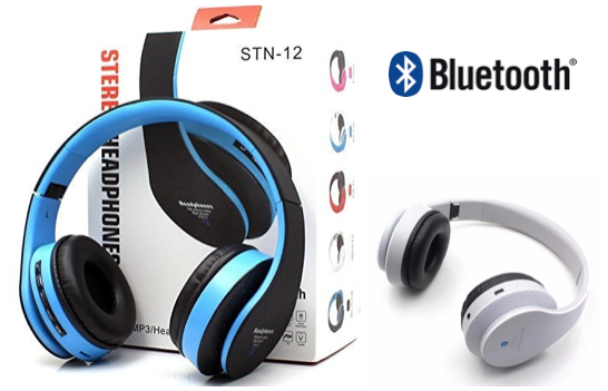 Marge Deals - Bluetooth Stereo Koptelefoon Stn-12