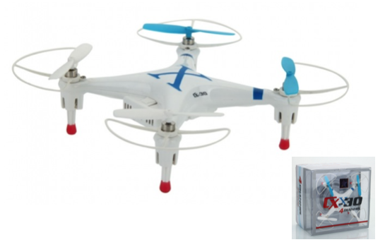 Marge Deals - Cheerson Cx-30 Quadcopter Met Camera