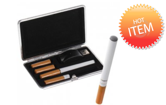 Marge Deals - E-cigarette Etui Starter Kit + 15 Cartridges