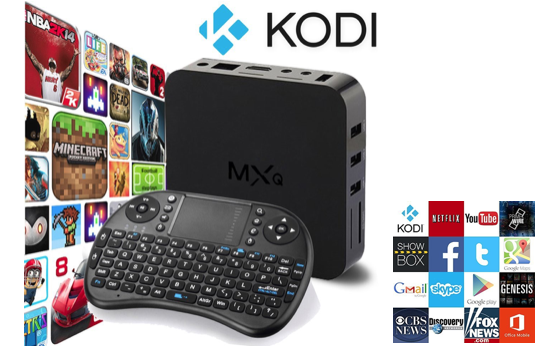 Marge Deals - Kodi Stream Tv Box + Toestenbord