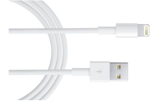 Marge Deals - Lightning 1M Usb Kabel 1+1 Gratis