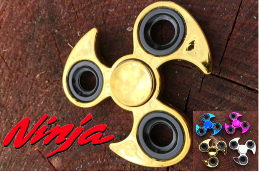 Marge Deals - Ninja Hand Spinner Metall