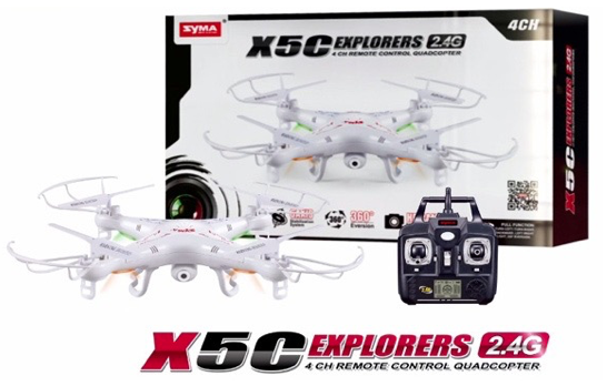 Marge Deals - Syma Drone X5c Hd Camera