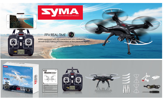 Marge Deals - Syma X5sw Real-Time Drone