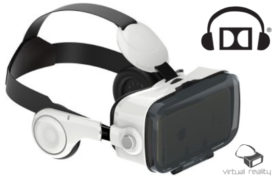 Marge Deals - Virtual Reality Bril Met 3D Geluid