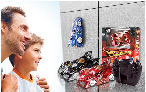 Wall climber rc car dagelijkse koopjes en internet for Action printpapier