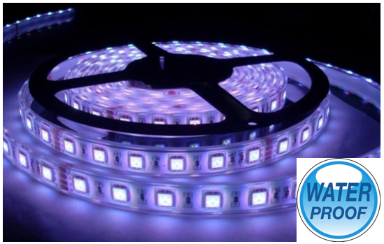 Marge Deals - Waterproof Led Strip Rgb 5M