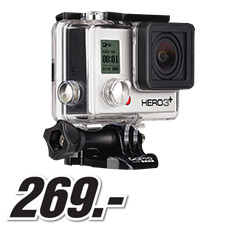 Media Markt - GOPRO HD HERO3+ SILVER***