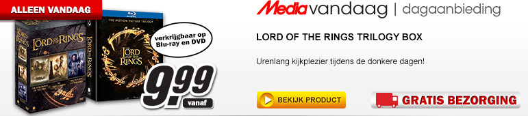 Media Markt - Lord of the Rings Trilogy box