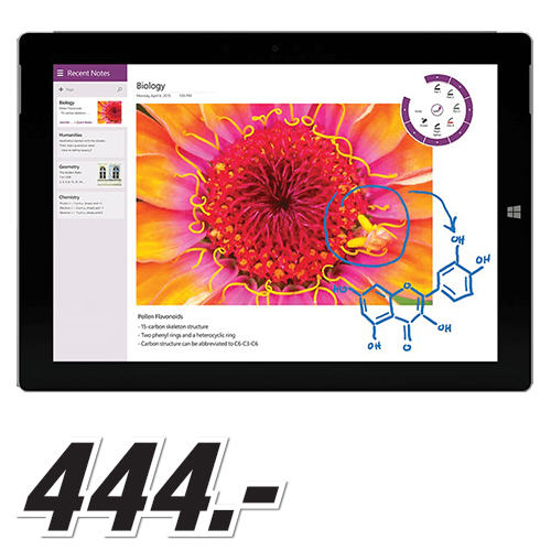 Media Markt - MICROSOFT Surface 3 64 GB