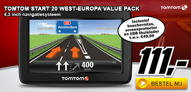 Media Markt - TomTom Start 20 West-Europa Value Pack