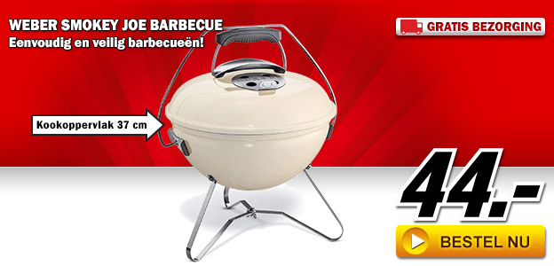 Media Markt - Weber Smokey Joe barbecue