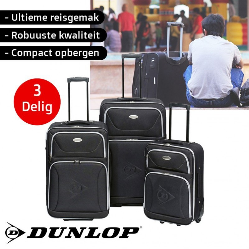 One Day For Ladies - Dunlop 3 delige kofferset