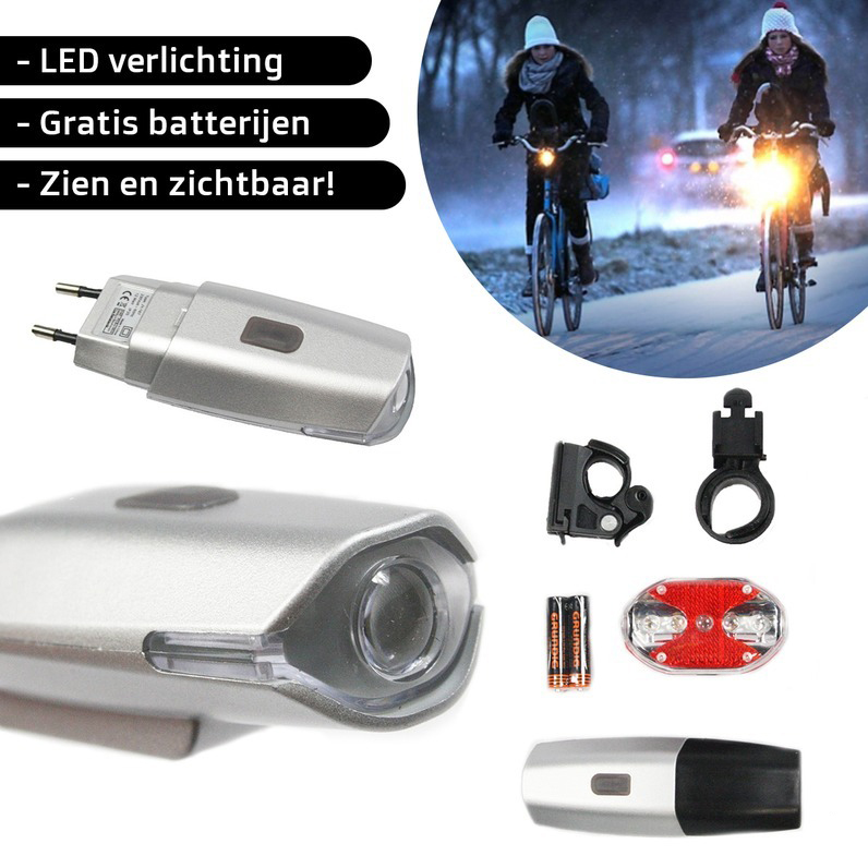 One Day For Ladies - Fiets verlichting set