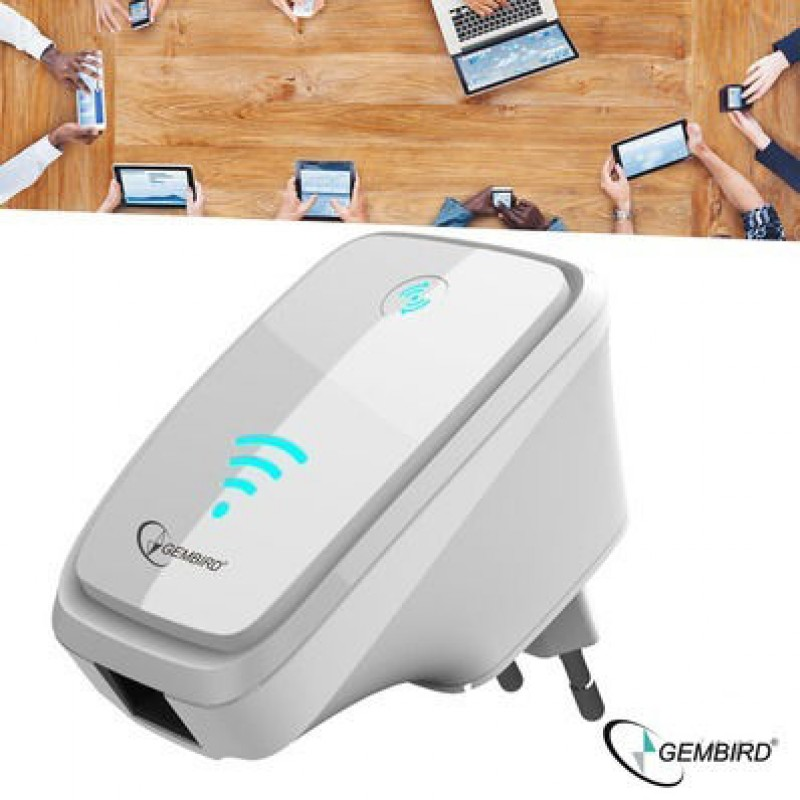 One Day For Ladies - Gembird WiFi Range Repeater 300 Mbps