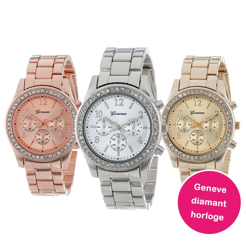 One Day For Ladies - Geneva diamant horloge