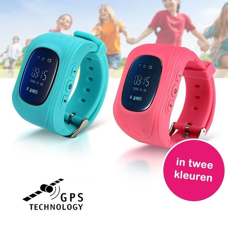 One Day For Ladies - GPS Tracker horloge voor kinderen