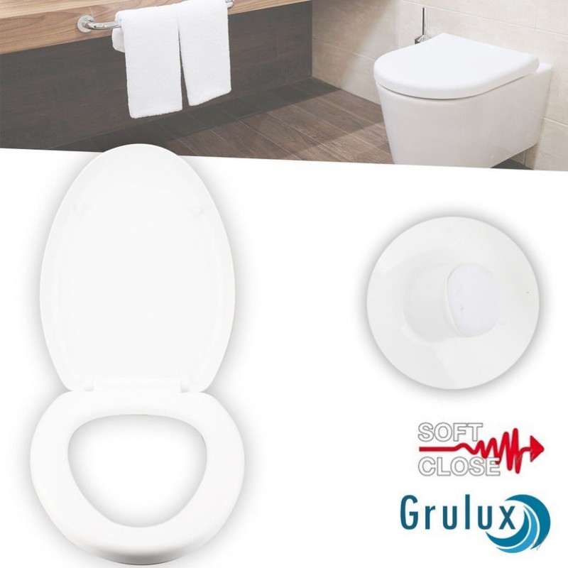 One Day For Ladies - Grulux softclose toiletbrillen
