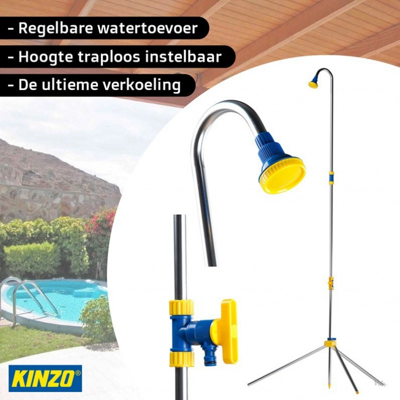 One Day For Ladies - Kinzo Tuin douche
