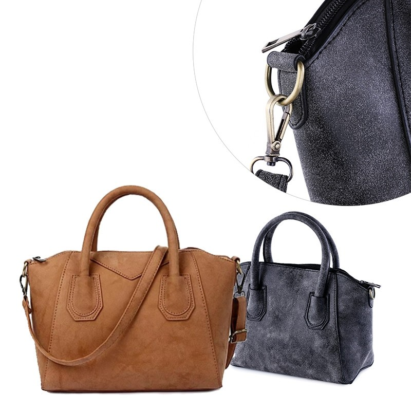 One Day For Ladies - Klassieke nubuck dames tas