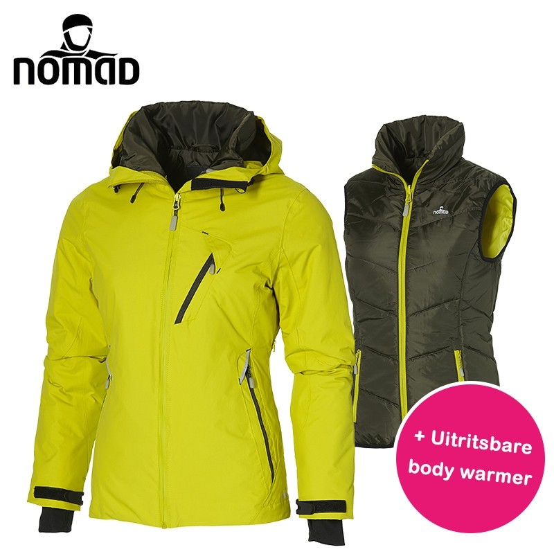 One Day For Ladies - Nomad winterjas voorzien van bodywarmer