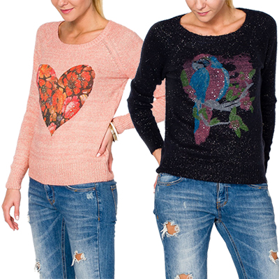One Day For Ladies - Pullover met print