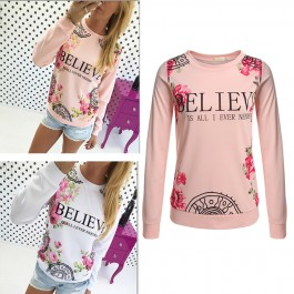 One Day For Ladies - Sweaters met print