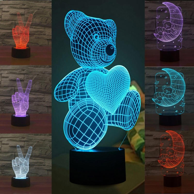 One Day For Ladies - Visual effect lampen