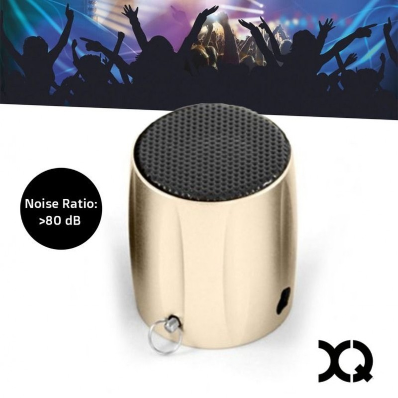 One Day For Ladies - XQISIT B04 Mini Speaker Gold