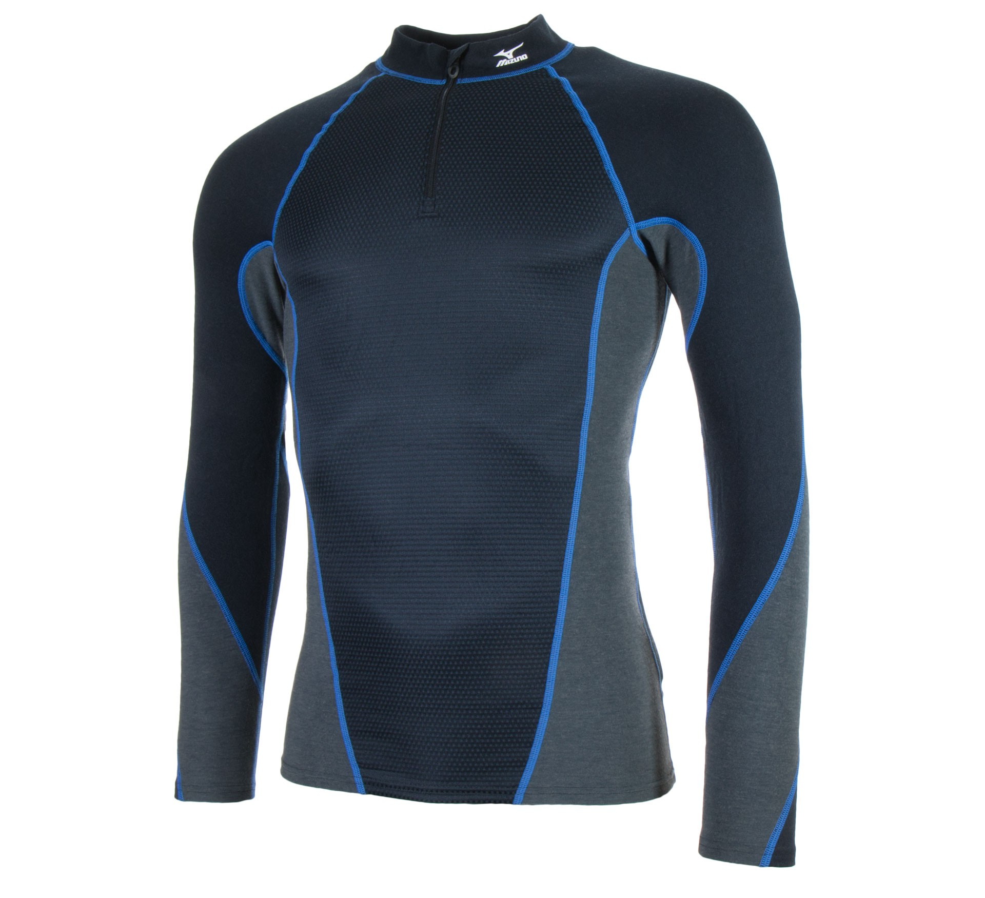 Plutosport - Mizuno Virtual Body Half Zip Thermo Longsleeve