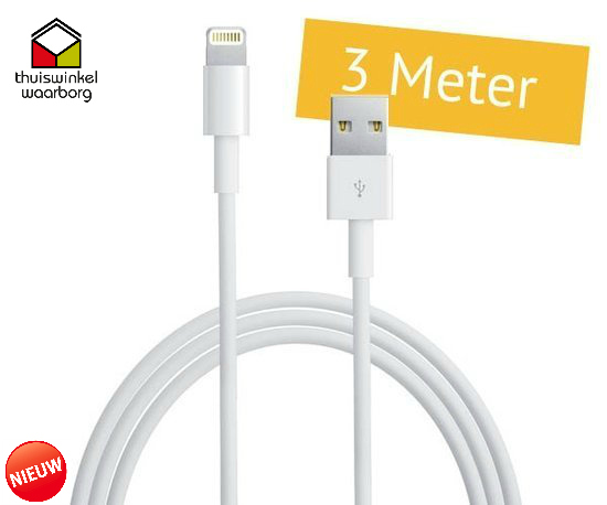 Seal de Deal - Light naar USB-kabel (3 meter)